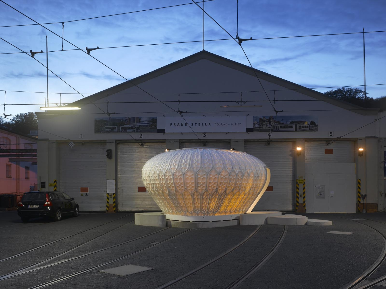Pavilion COCOON_FS - Morphogenetic Design Approach